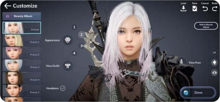 black desert mobile multiplayer role playing iphone and ipad game screenshot