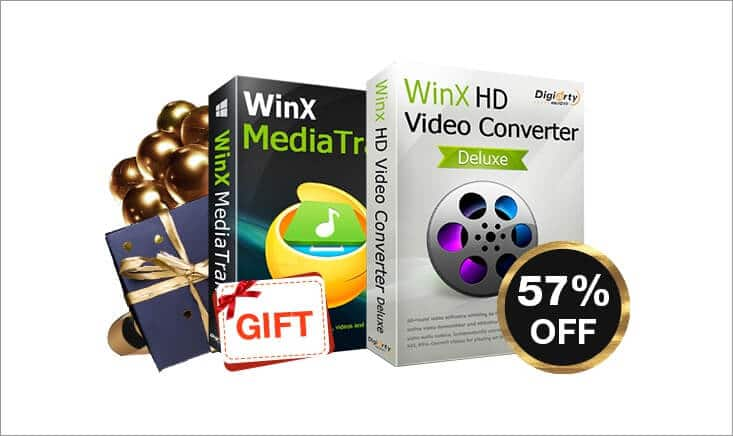 Black Friday Deal for WinX HD Video Converter