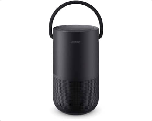 Bose portable smart speaker HomePod alternativ