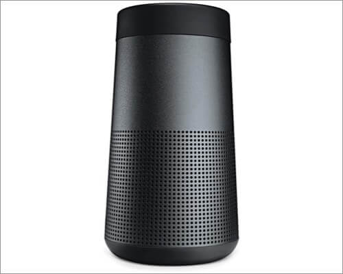 bose soundlink revolve bluetooth speaker for iphone 11, 11 pro, and 11 pro max