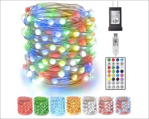 BrizLabs Color Changing Christmas Fairy Lights