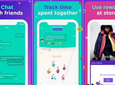 bthere Group Location Sharing App Chat with Friends, and Earn Handsome Rewards