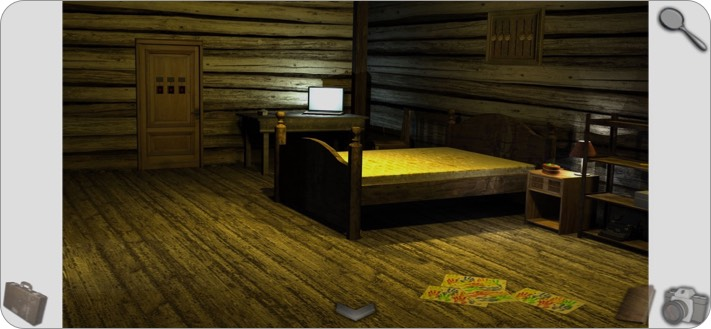 cabin escape room iphone and ipad game screenshot