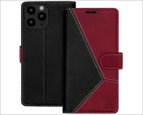 Caislean Leather Wallet Case for iPhone 12 Pro Max