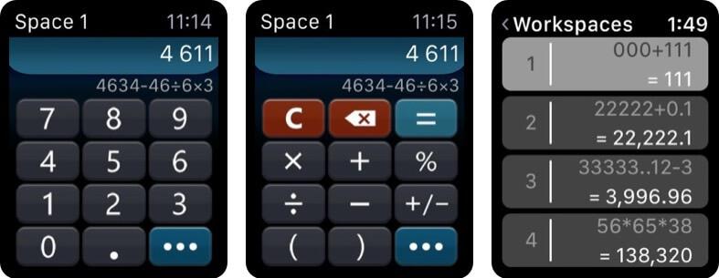 Calculator HD++ Apple Watch App