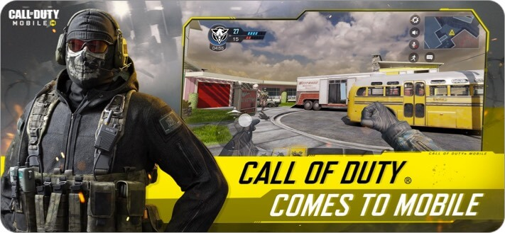 Call of Duty Mobile iPhone and iPad Action Game Screenshot