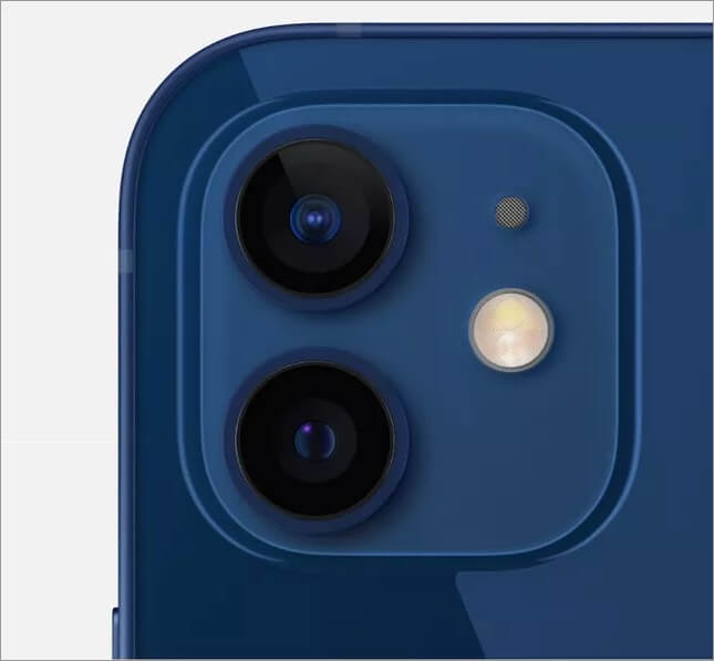 Camera Lenses of iPhone 12 and 12 Mini