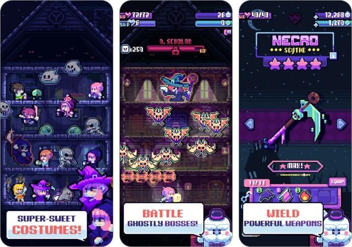 Candies 'n Curses iPhone and iPad Halloween Game Screenshot