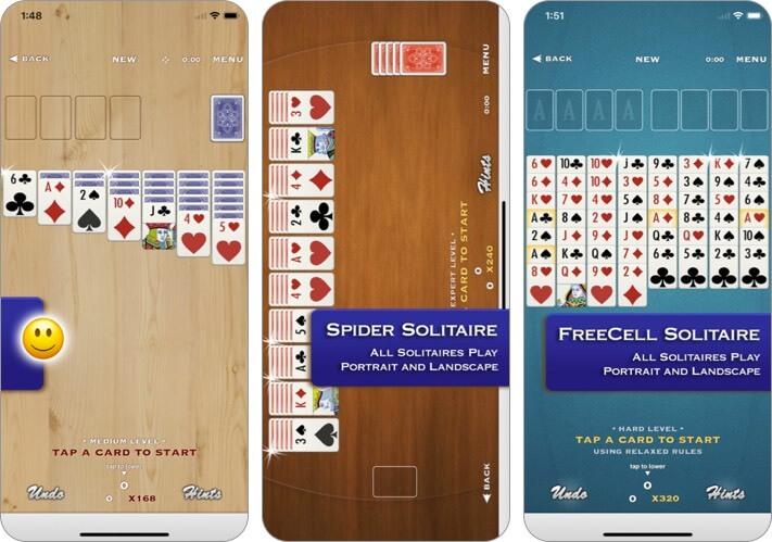 Card Games iPhone and iPad App Screenshot