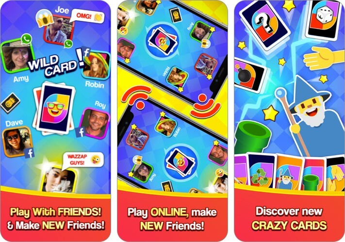 Card Party iPhone and iPad Game Screenshot