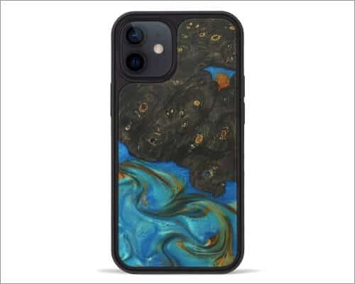 Carved Elsey Wooden Case for iPhone 12 Mini and 12 Pro Max