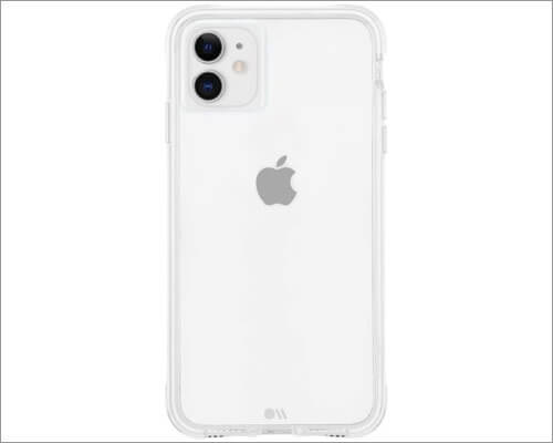 case-mate tough collection clear case for iphone 11