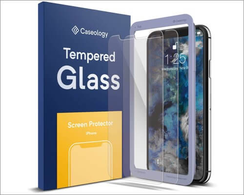 caseology screen protector for iphone xr
