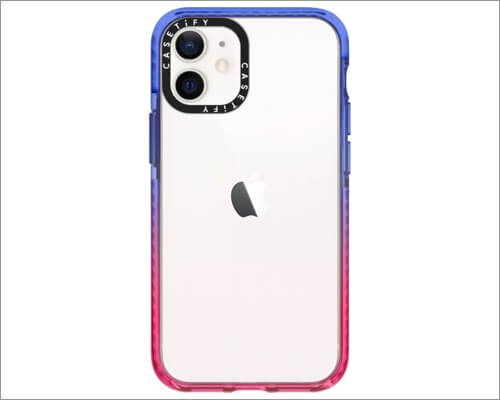 Casetify Customizable Bumper Case for iPhone 12 Mini