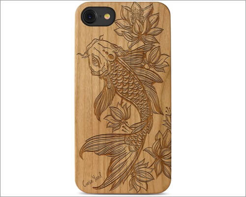 CaseYard wooded case for iPhone 8