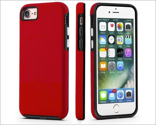 cellever dual guard protective rugged case for iphone se 2020