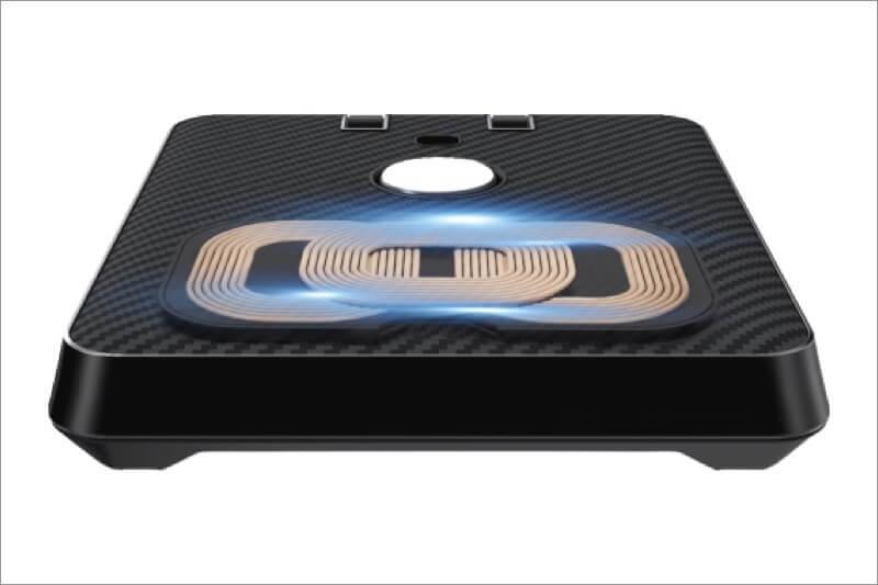 chain coil design charding pad of pitaka air omni