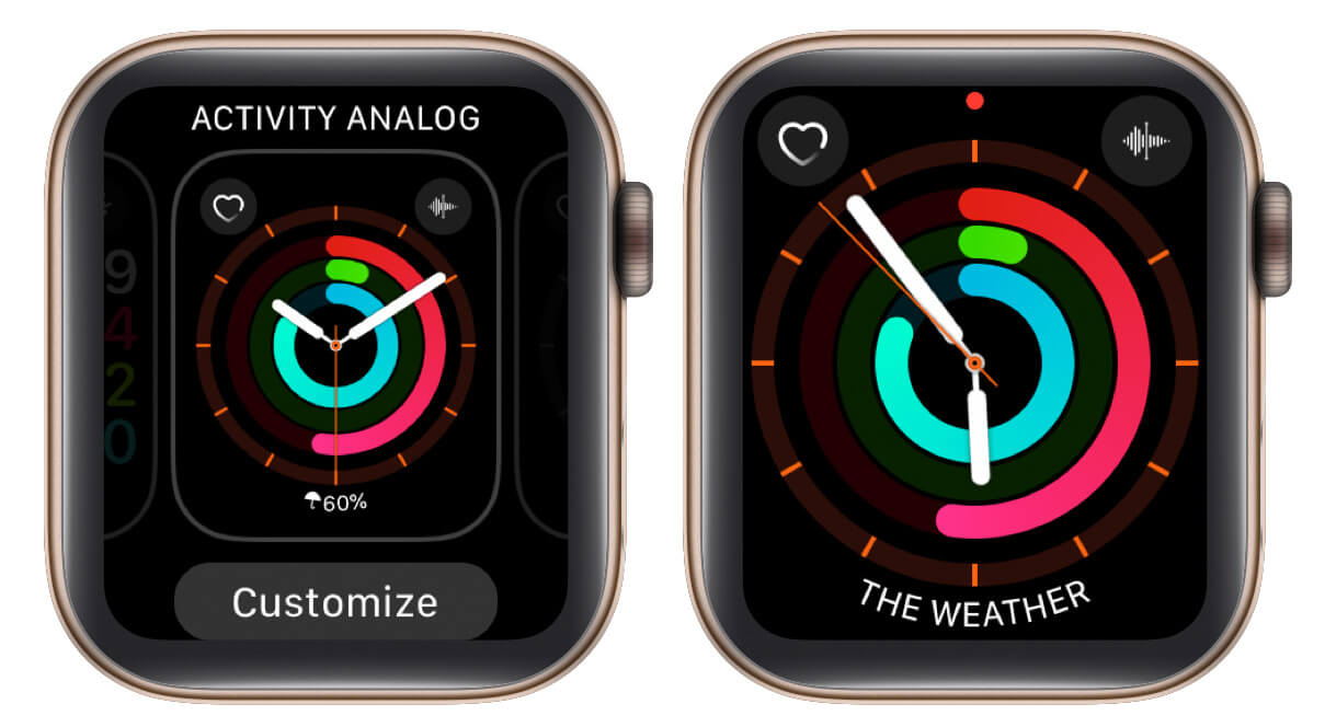 change complications on watch face