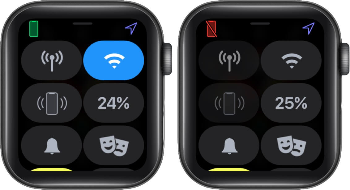 Check Apple Watch Connection with iPhone