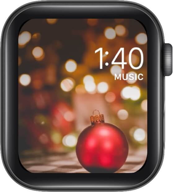 Christmas Bauble for Apple Watch