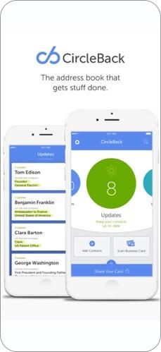 circleback iphone app screenshot