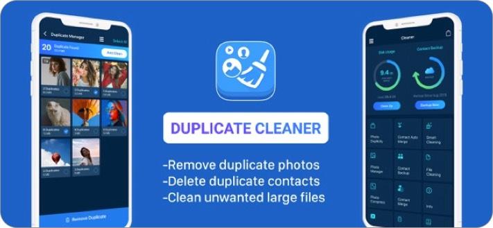 cleaner iphone app screenshot