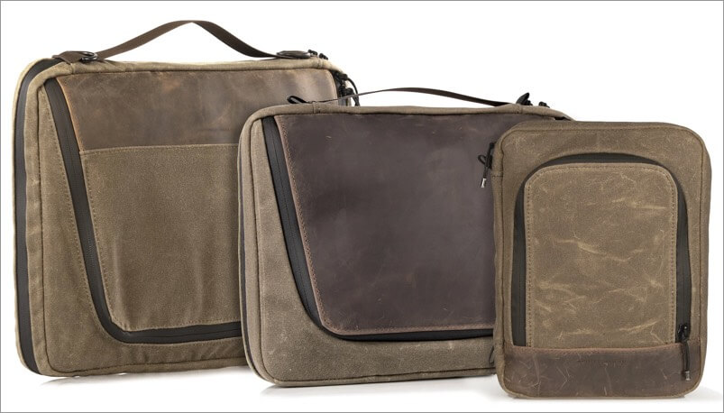 collection of waterfield tech folio bags