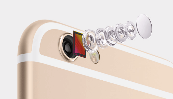 comparatively strong iSight camera