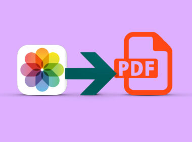 convert photo to pdf on iphone and ipad