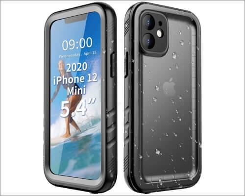 Cozycase Waterproof Case for iPhone 12 Mini