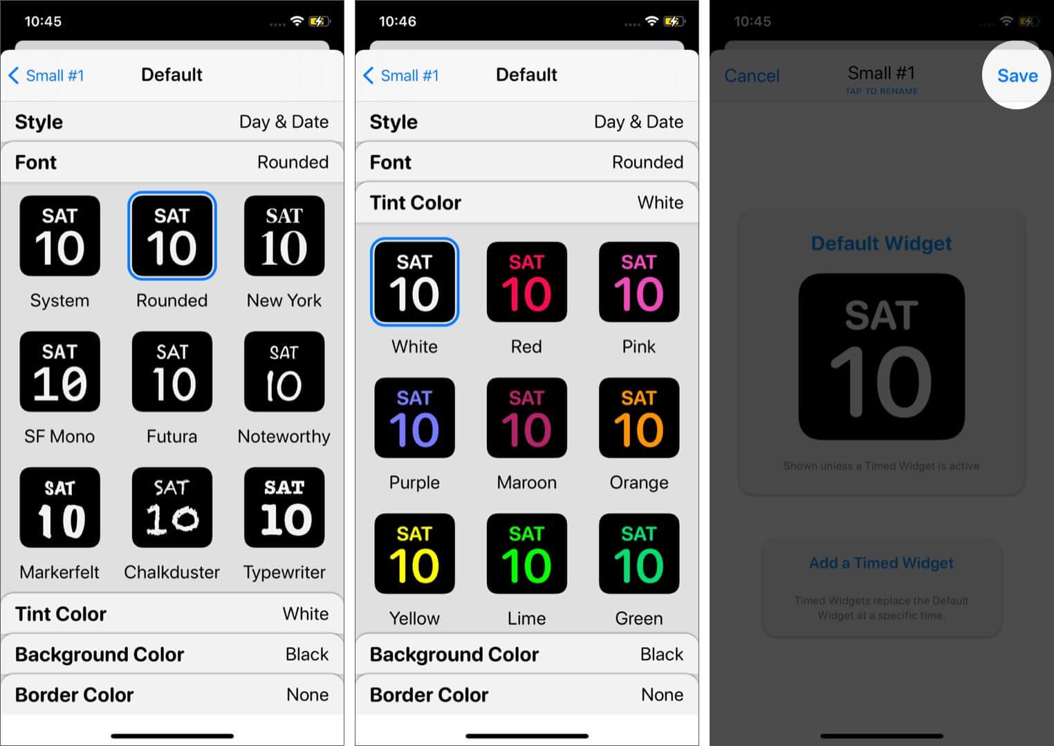 Create Widget in WidgetSmith App on iPhone Running iOS 14