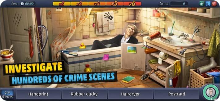 Criminal Case iPhone and iPad Detective Game Screenshot