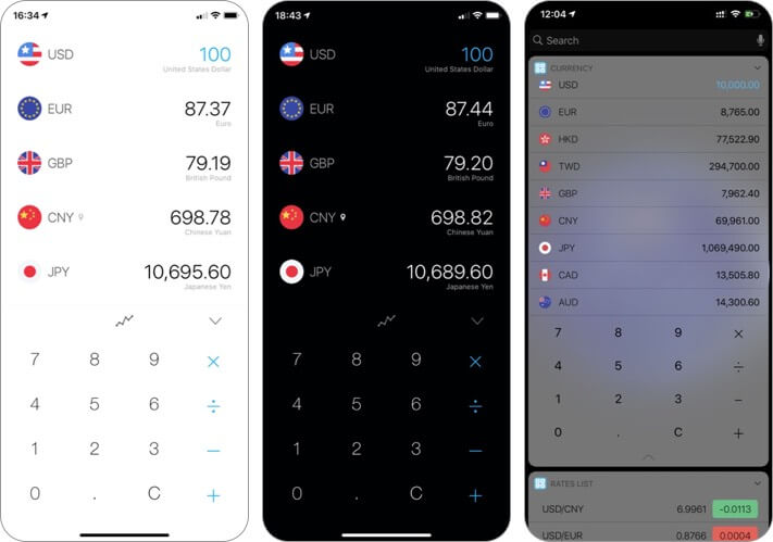 currency pro iphone and ipad app