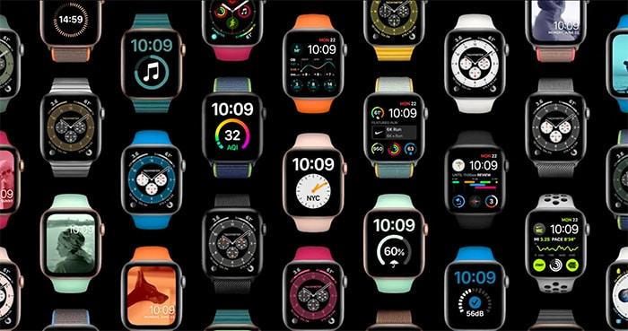 customized watch faces and sharing in watchOS 7