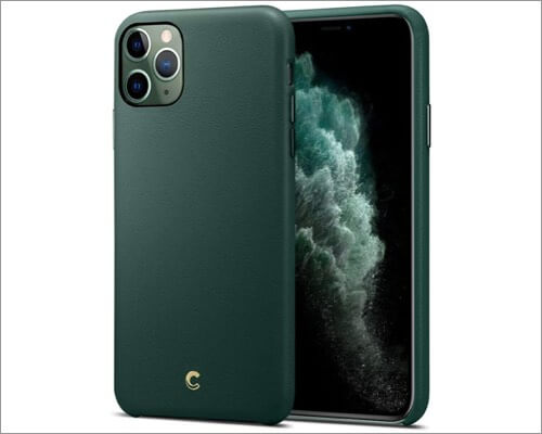 cyrill iphone 11 pro synthetic leather case