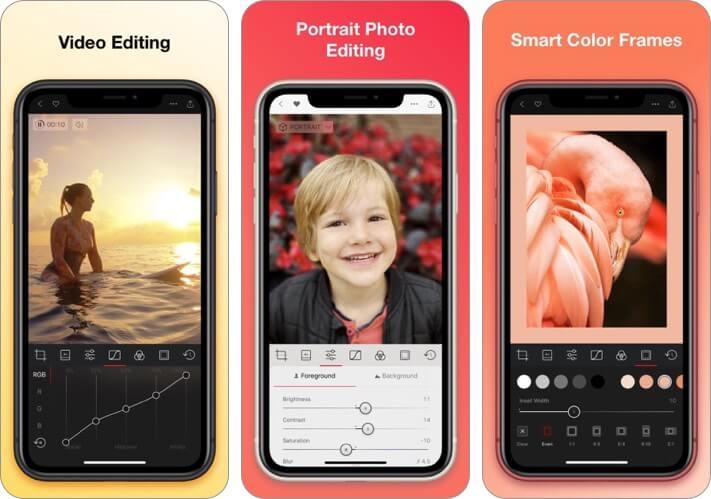 darkroom photo and video editor iphone and ipad app screenshot