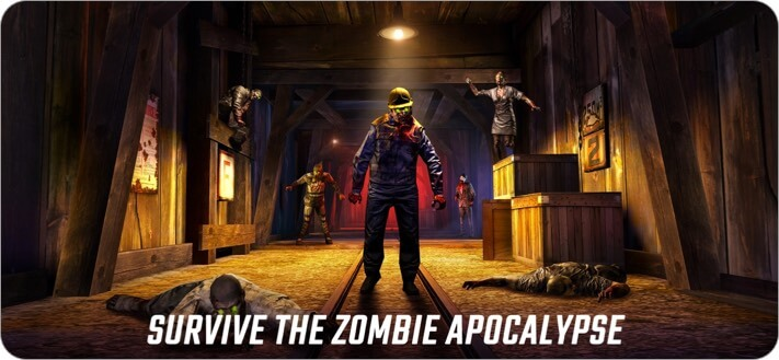 Dead Trigger 2 Zombie Survival iPhone and iPad Game Screenshot