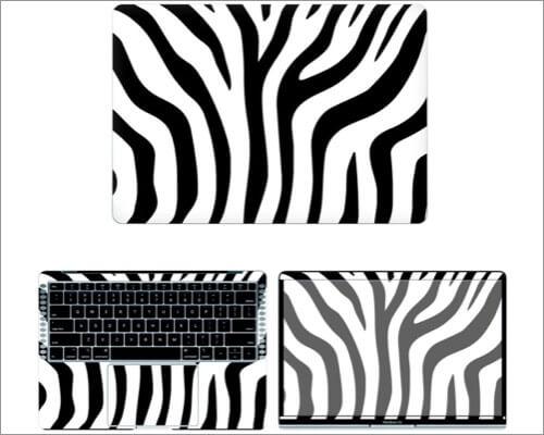 decalrus Zebra Skin Sticker for MacBook Air