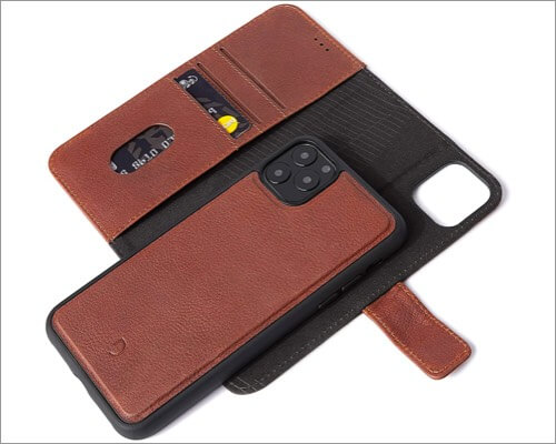 decoded detachable iphone 11 wallet case