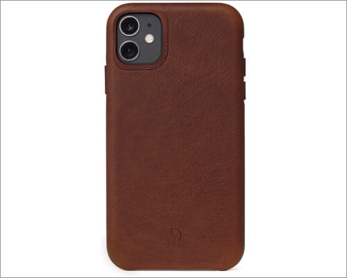 decoded iphone 11 leather case