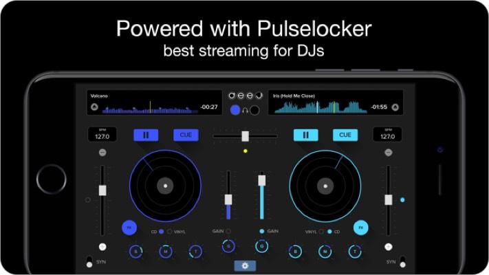 deej iphone dj app screenshot