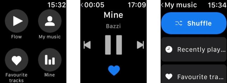 Deezer Apple Watch Podcast App Screenshot