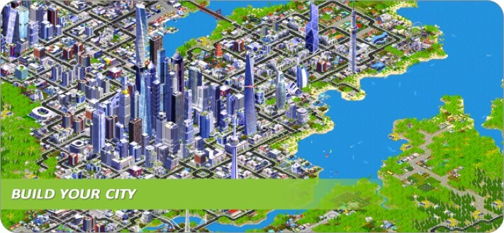designer city iphone and ipad city building game screenshot