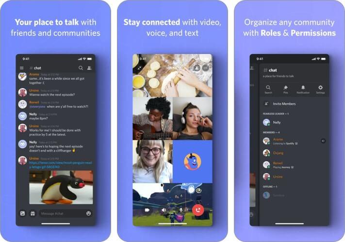 Discord iPhone App WhatsApp Alternative Screenshot