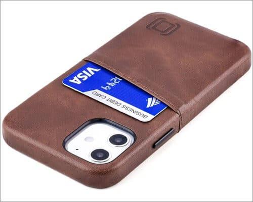 Dockem Leather Card Holder Case for iPhone 12 Mini