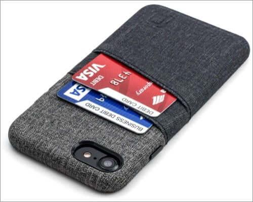 dockem synthetic leather card holder case