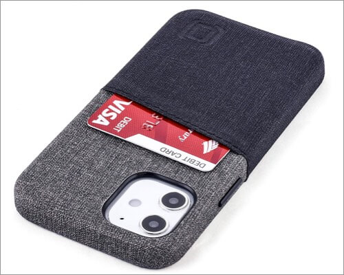 Dockem Synthetic Leather Case for iPhone 12 Mini