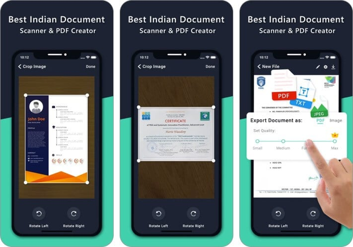 Doc Scanner iPhone and iPad document scanner App