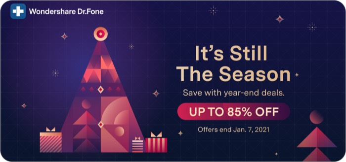 Dr.Fone - Virtual Location Year-End Promotion 2020