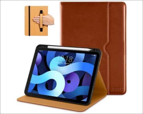 dtto premium leather case for 10.9 inch ipad air 4th gen